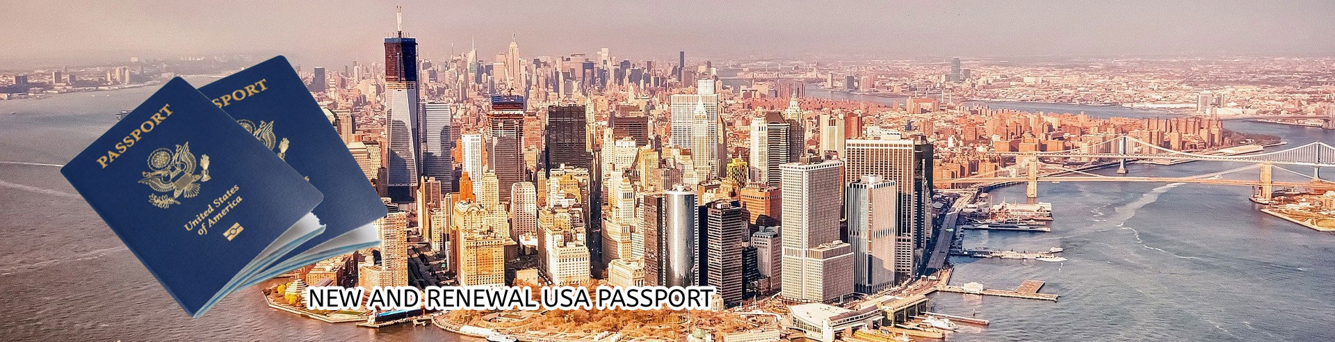 New And Renewal USA Passport